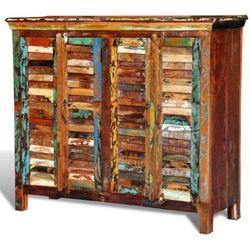 Vidaxl  drewniana szafka 2 x podwójne drzwi (8718475868446)