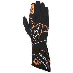 Rękawice kartingowe Alpinestars Tech 1-KX - Czarno / Pomarańczowy \ XL - produkt z kategorii- Rękawice moto