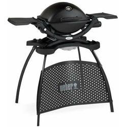 grill gazowy q 2200 ze stojakiem czarny 54012433 marki Weber