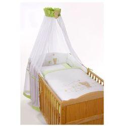 Easy Baby Zestaw pościeli Miś Honey bear kolor zielony (400-39) - produkt z kategorii- Komplety pościeli dla dzieci