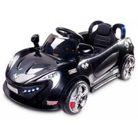 samochód na akumulator aero, black marki Caretero