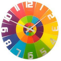 Nextime - zegar ścienny rainbow