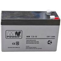 "AKUMULATOR ""MW POWER"" AGM 12V / 7.2Ah do ARM300, ARM350, ARM400"