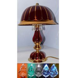 Lampa stołowa (biurkowa) z kryształkami, S 540/3/37