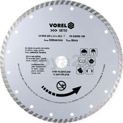 Tarcza diamentowa 230 mm, segment turbo / 08755 /  - zyskaj rabat 30 zł marki Vorel