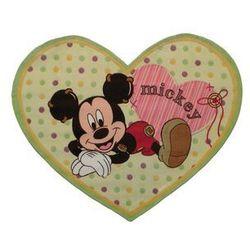 Dywan w kształcie serca Baby 100x120 akrylowy / Gwarancja 24m / NAJTAŃSZA WYSYŁKA!