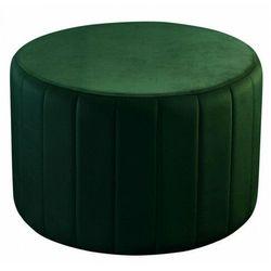 Okrągła pufa do salonu - utansa 68 kolorów marki Elior