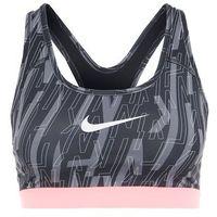 Nike Performance PRO CLASSIC Biustonosz sportowy black/lava glow/white, 832088