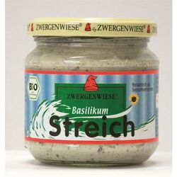 Pasta słonecznikowa z bazylią 180g BIO (bezglutenowa) - Zwergenwiese, towar z kategorii: Zdrowa żywność