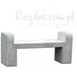 Mebel ogrodowy z betonu, ławka ogrodowa