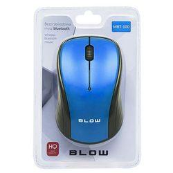 Mysz BLUETOOTH BLOW MBT-100 niebieska MBT-100 niebieska - odbiór w 2000 punktach - Salony, Paczkomaty, Stacje Orlen (5900804102496)