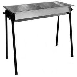 Hendi grill na węgiel drzewny patio   2 x 345x345mm   770x380x(h)760mm - kod product id