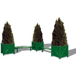 Specjalna ławeczka ESTORIL (do połączenia z donicami)