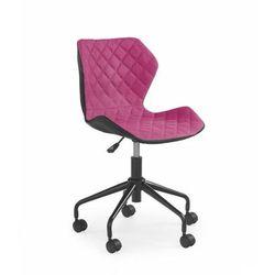 Młodzieżowy fotel obrotowy - matrix - różowy - złap rabat: kod30 marki Halmar