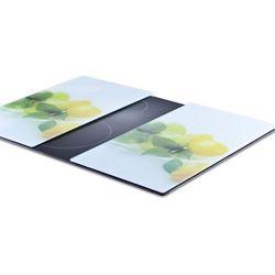 Szklane płyty ochronne LEMON na kuchenkę – 2 sztuki, ZELLER (4003368262710)