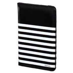 """Hama Etui do tabletu  uniwersalne tablet 7-8"""" stripes biało-czarny (001355550000) darmowy odbiór w 19 miastach!"""