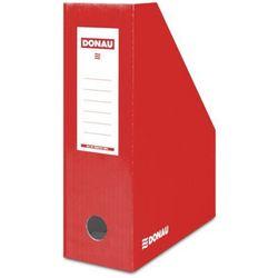 Pojemnik na dokumenty (czasopisma) czerwony lakierowany (7648101-04fsc) marki Donau