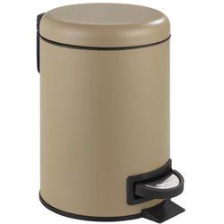 Kosz łazienkowy LEMAN MATT, pojemnik na śmieci, 3 l, WENKO, B06W5KYMM7