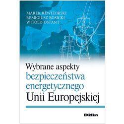 Wybrane aspekty bezpieczeństwa energetycznego Unii Europejskiej (ISBN 9788379300426)