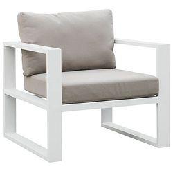 Fotel ogrodowy z podłokietnikami malaga lounge wyprodukowany przez Miloo