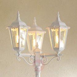 Konstsmide Firenze lampy stojące Biały, 3-punktowe - Klasyczny - Obszar zewnętrzny - Firenze - Czas dostawy: od 8-12 dni roboczych, Firenze