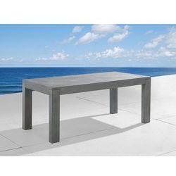 Beliani Stół betonowy 180cm - stół ogrodowy - stół betonowy - taranto (7081456113769)