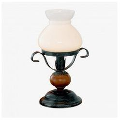 Stojąca LAMPA stołowa RUSTIC 7 91036 Eglo metalowa LAMPKA biurkowa IP20 biały czarny - produkt z kategorii-