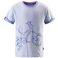 T-shirt koszulka  z krótkim rękawem foili niebieski melanż marki Reima