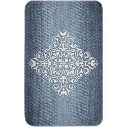 Dywaniki łazienkowe z pianką memory niebieski marki Bonprix