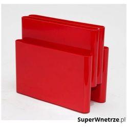 Gazetnik 40x35cm bs01 czerwony marki D2