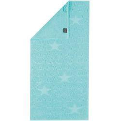 Cawö Frottier ręcznik kąpielowy Star niebieski, 70 x 140 cm, 70 x 140 cm