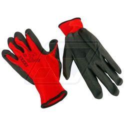 Rękawice robocze Geko czerwone 10 G73533, towar z kategorii: Rękawice