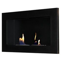 Biokominek dekoracyjny Flat 65 x 40 cm czarny, EcoFire
