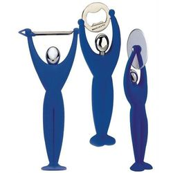 Casa bugatti - gym zestaw 3 przyborów - niebieski - niebieski