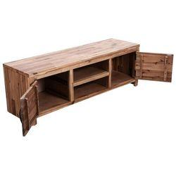 Vidaxl szafka pod telewizor z drewna akacjowego 120 x 35 x 45 cm (8718475605577)