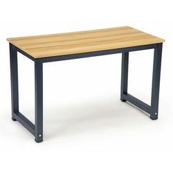 Biurko szkolne, komputerowe, stolik, 120, jasny orzech, mat marki Modernhome