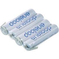 Panasonic Pakiet akumulatorów aaa, nimh  eneloop reihe f1x4, ilość ogniw: 4, 4.8 v, 750 mah, z-końcówka d