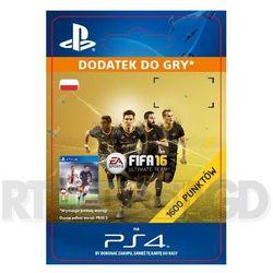 FIFA 16 1600 Punktów [kod aktywacyjny] - produkt z kategorii- Pozostałe akcesoria do konsoli
