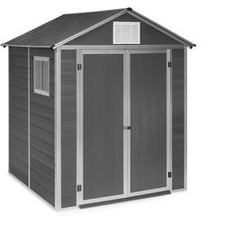 Blumfeldt schatzkammer, szopa ogrodowa, odporna na promieniowanie uv, pcw, zamek, okno boczne, niebieska