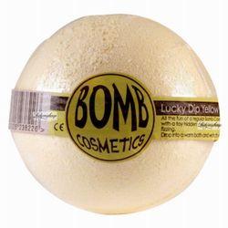 Bomb Cosmetics - Lucky Dip Yellow - Musująca kula do kąpieli - SZCZĘSLIWY TRAF - produkt z kategorii- Sole