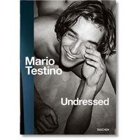 Mario Testino Undressed, oprawa miękka