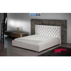 Białe łóżka ester - polibox marki Meble24