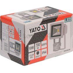 Reflektor diodowy z czujnikiem ruchu 10w 700lm cob Yato YT-81801 - ZYSKAJ RABAT 30 ZŁ, YT-81801