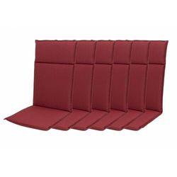 Doppler zestaw poduszek ogrodowych HIT UNI 8833 wysokie - 6 szt (9003034180961)