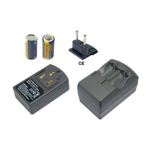 Akumulator CR123A, DL123A 2szt. + ładowarka - produkt dostępny w ebaterie.pl