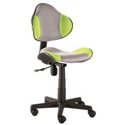 Fotel Q-G2 Zielony Szary