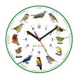 Zegar ścienny obrazki /ptaszki marki Atrix