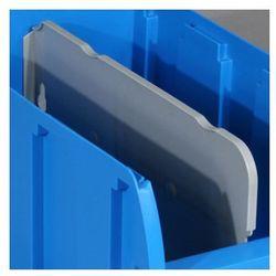 Przegroda do plastikowych pojemników compact, podłużna, długość 281 mm marki Allit