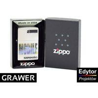 Zapalniczka Zippo Mobile Szerokości Satin GRAWER