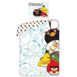 Dziecięca pościel bawełniana angry birds 5002, 140 x 200 cm, 70 x 90 cm marki Jerry fabrics
